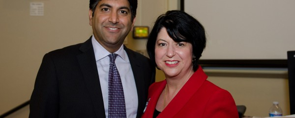 Aneesh Chopra and Helena Nyman